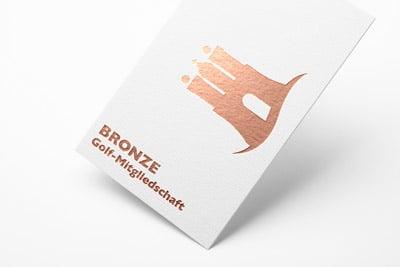 Mitgliedschaftskarte in bronze